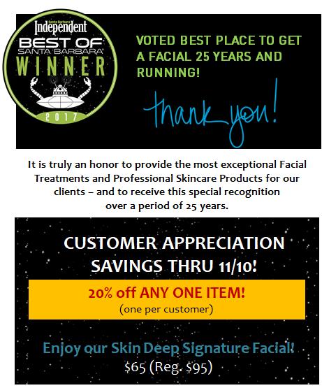 Customer Appreciation Savings